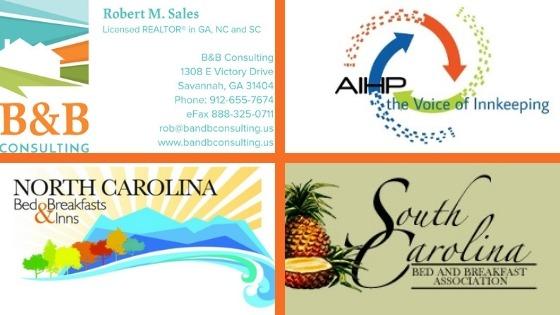 Logos: B&B Consulting, AIHP, NCBBI, SCBBA