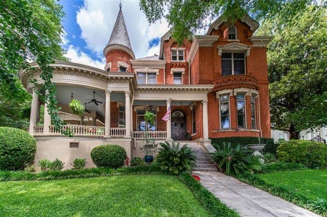 Macon GA Burke Mansion inn for sale